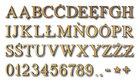 Litery i cyfry na drzwi, budynki, nagrobki - Toronto żółte |TY (2)