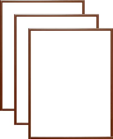 Rama aluminiowa, kolor brązowy |AL1-8 (1)