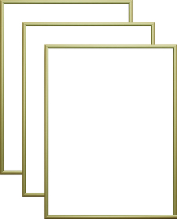 Rama aluminiowa, kolor złota satyna |AL1-9 (1)