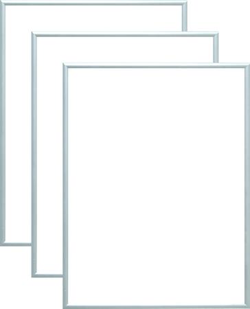 Rama aluminiowa, kolor srebrna satyna |AL1-10 (1)