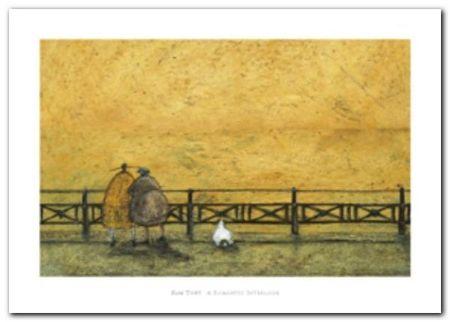 A Romantic Interlude plakat obraz 70x50cm (1)
