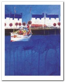 Summer Harbour plakat obraz 40x50cm