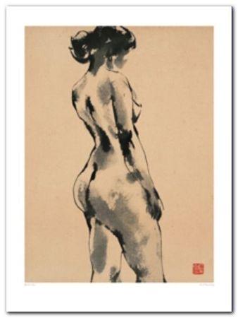 Girl Standing plakat obraz 60x80cm (1)