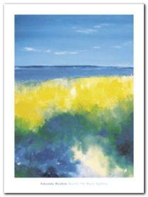 Spring Blues plakat obraz 60x80cm