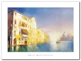 Palazzi, Grand Canal plakat obraz 80x60cm