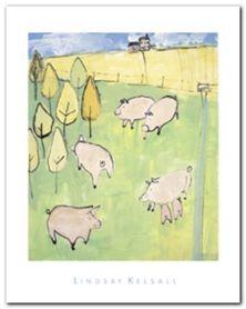 Pigs plakat obraz 40x50cm
