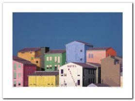 Chioggia Veneto plakat obraz 80x60cm