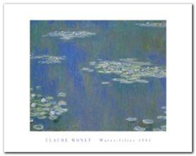 Water-Lilies 1905 plakat obraz 50x40cm