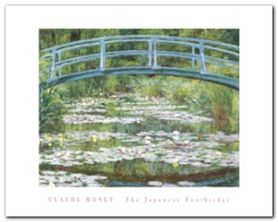 Japanese Footbridge plakat obraz 50x40cm