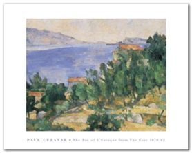 Bay Of L Estaque plakat obraz 50x40cm