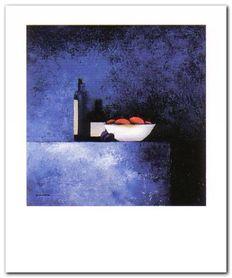 Still Live In Blue I plakat obraz 50x60cm