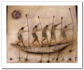 Ritual Journey plakat obraz 60x50cm