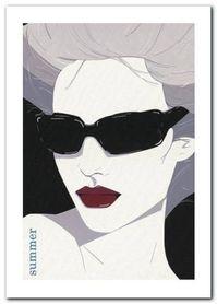 Summer plakat obraz 50x70cm
