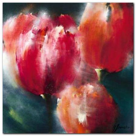 Spring Flower II plakat obraz 30x30cm (1)