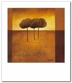 Trees II plakat obraz 70x80cm