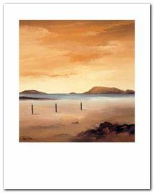 Quiet Sands I plakat obraz 24x30cm
