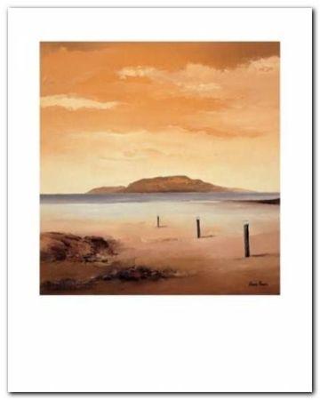 Quiet Sands II plakat obraz 24x30cm (1)