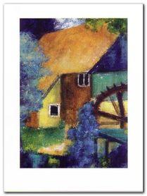 Water Mill plakat obraz 60x80cm