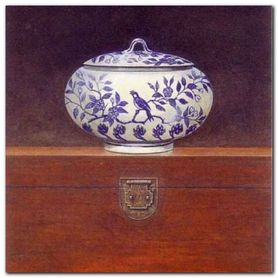 China Chest III plakat obraz 33x33cm