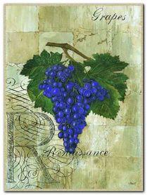 Renaissance Grapes plakat obraz 30x40cm