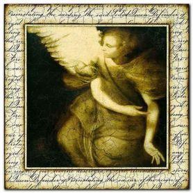 Enchanted Messenger plakat obraz 70x70cm