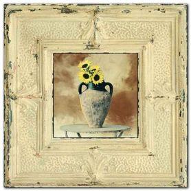 Sunflower plakat obraz 53x53cm