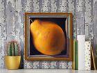 Boxed Whole Pear plakat obraz 38x38cm (3)