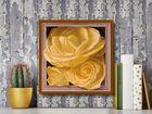 Boxed Yellow Roses I plakat obraz 38x38cm (3)