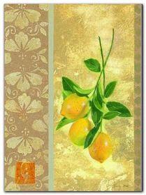 Eastern Lemons plakat obraz 30x40cm