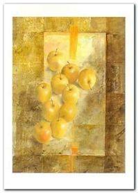 Golden Apples plakat obraz 50x70cm