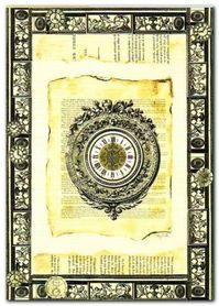 Six O-Clock plakat obraz 50x70cm