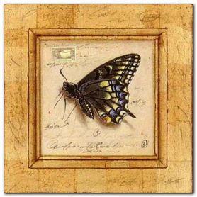 Butterfly Diaries plakat obraz 30x30cm