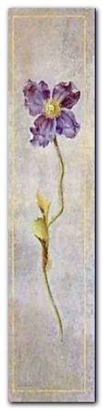 Poppy - Bleu plakat obraz 20x80cm (1)