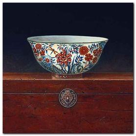 Oriental Bowl I plakat obraz 33x33cm