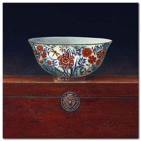 Oriental Bowl I plakat obraz 33x33cm (1)