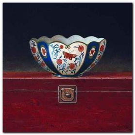 Oriental Bowl II plakat obraz 33x33cm