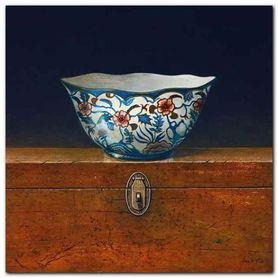 Oriental Bowl III plakat obraz 33x33cm