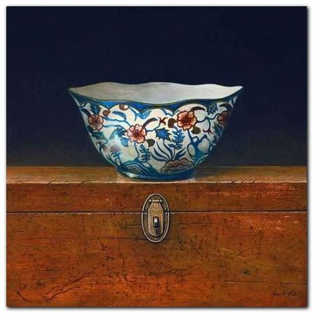 Oriental Bowl III plakat obraz 33x33cm (1)