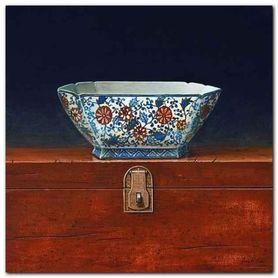 Oriental Bowl IV plakat obraz 33x33cm