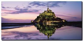Mont-St.-Michel plakat obraz 70x35cm