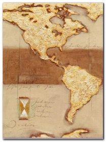 Discover America plakat obraz 60x80cm