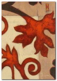 Ornament Leafs plakat obraz 70x100cm
