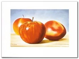 An Apple A Day plakat obraz 80x60cm