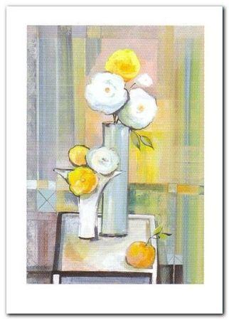 Wazon Z Kwiatami II plakat obraz 50x70cm (1)