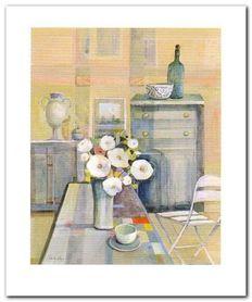 Wazon Z Kwiatami III plakat obraz 50x60cm