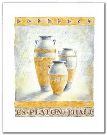 Philosophy II plakat obraz 40x50cm