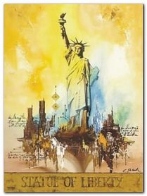 Statue Of Liberty plakat obraz 60x80cm