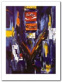Broadway II plakat obraz 90x120cm