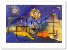 Abstakcja plakat obraz 120x90cm