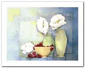 Kwiaty W Wazonie II plakat obraz 50x40cm